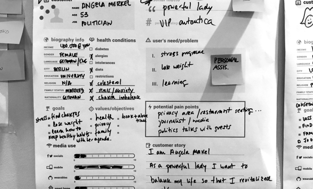 an image taken in the service design workshop